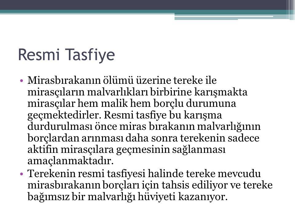 Resmi Tasfiye