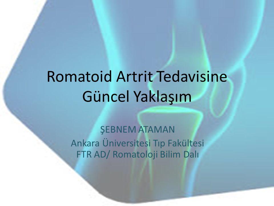 Romatoid Artrit Tedavisine Güncel Yaklaşım