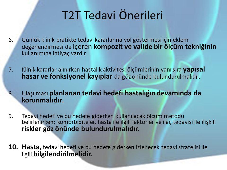 T2T Tedavi Önerileri