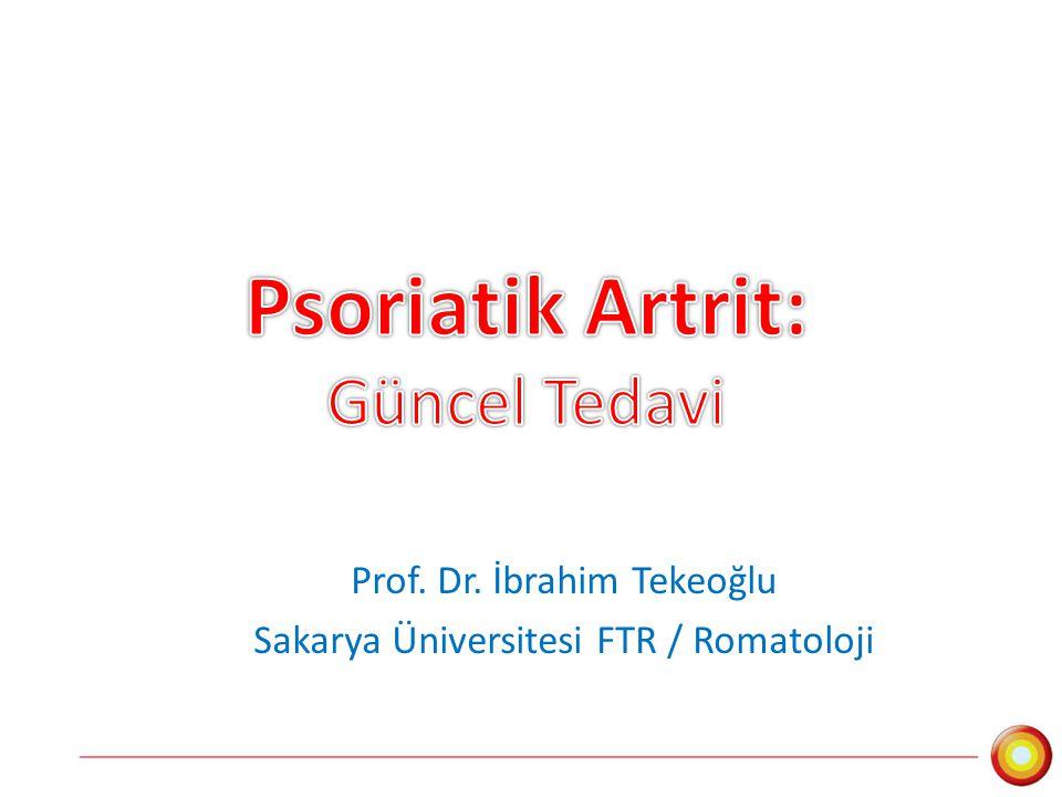 Psoriatik Artrit: Güncel Tedavi