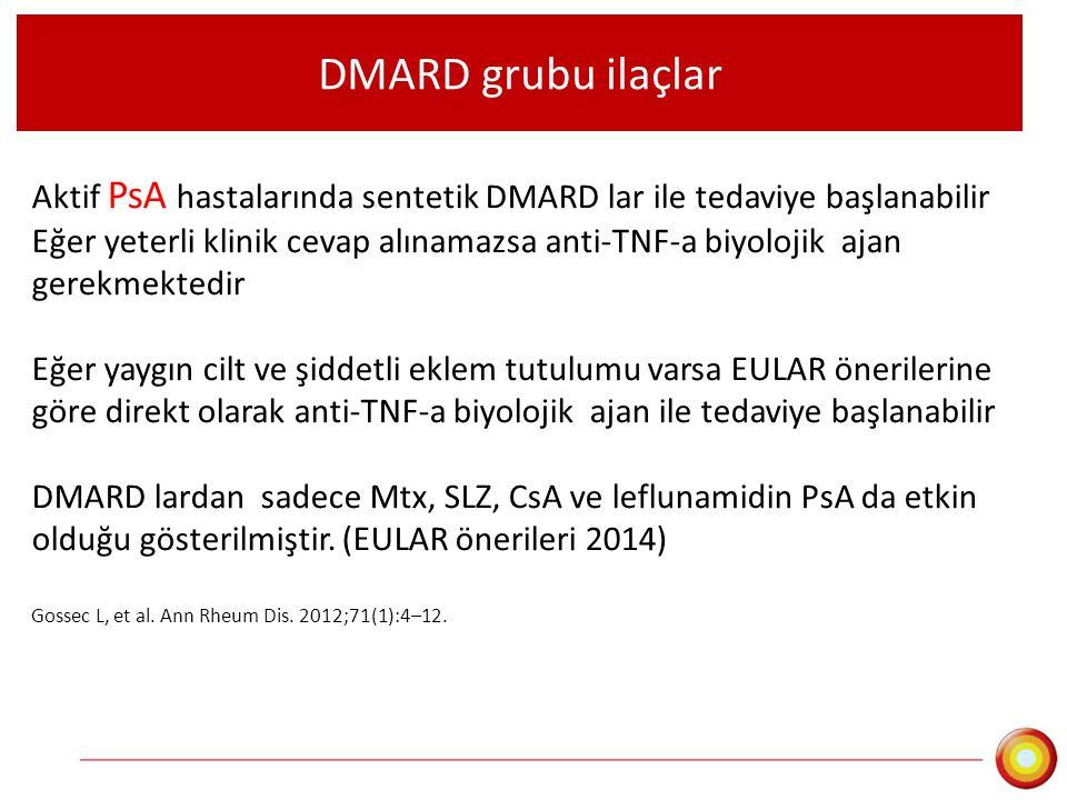 DMARD grubu ilaçlar