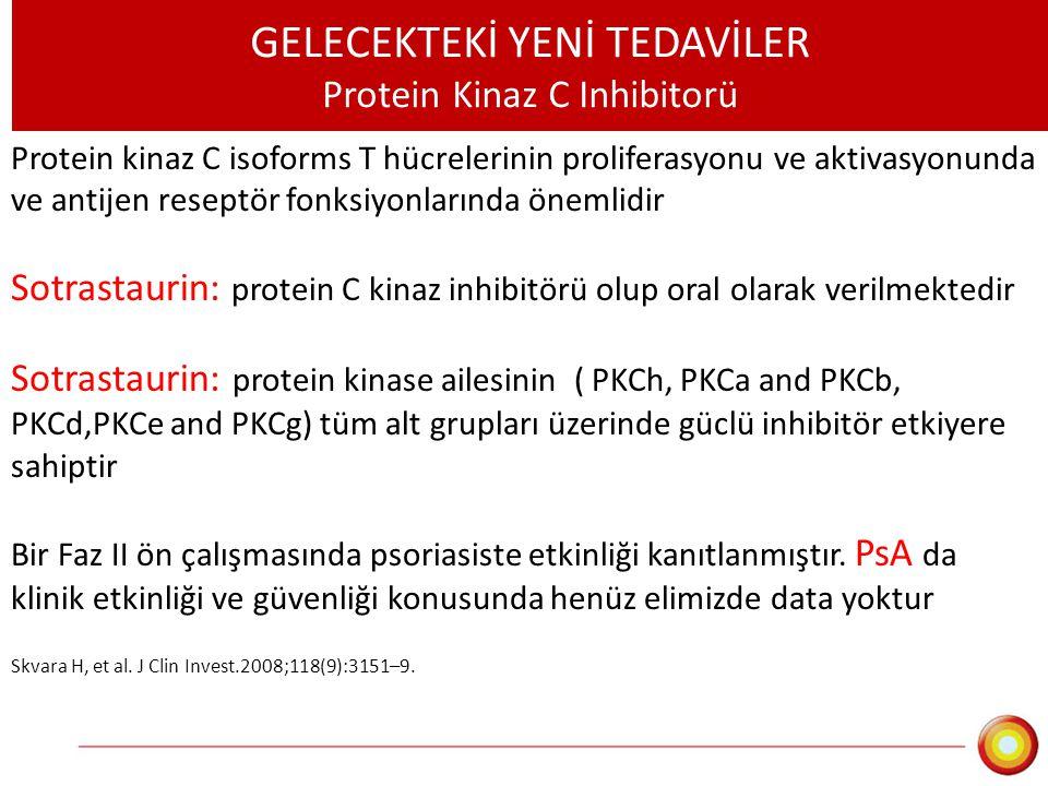 GELECEKTEKİ YENİ TEDAVİLER Protein Kinaz C Inhibitorü