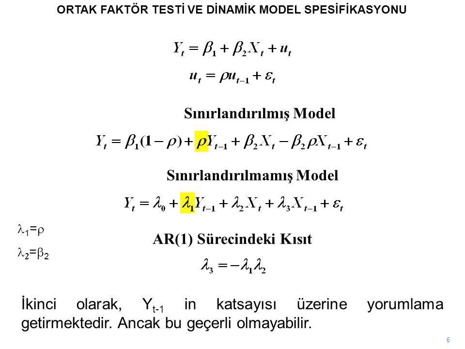 Sınırlandırılmış Model