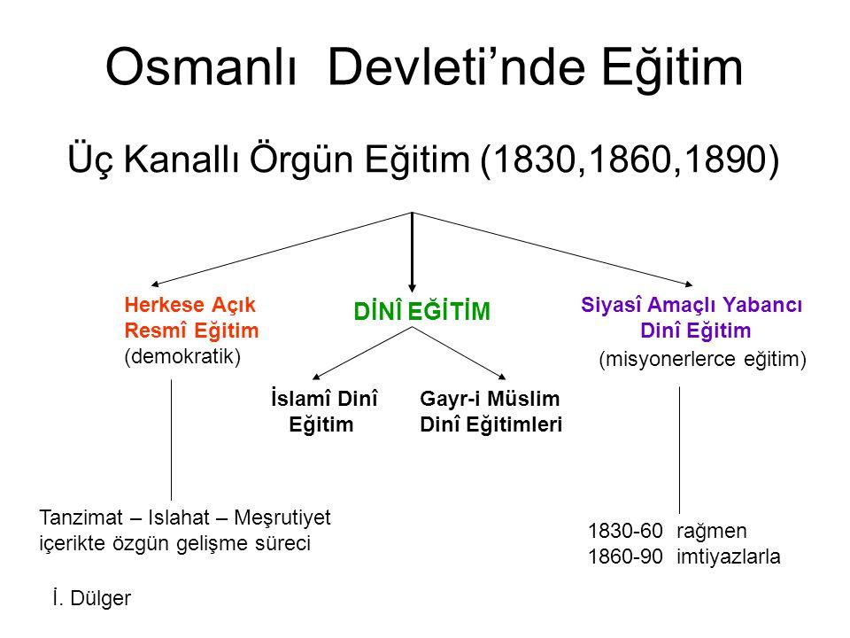Osmanlı Devleti'nde Eğitim