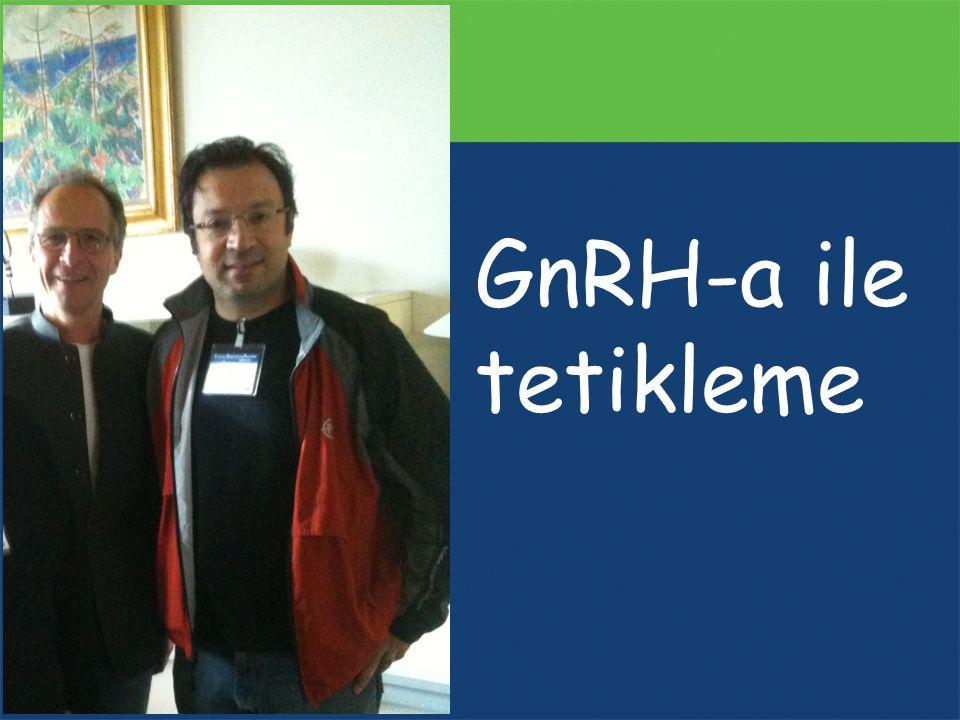 GnRH-a ile tetikleme