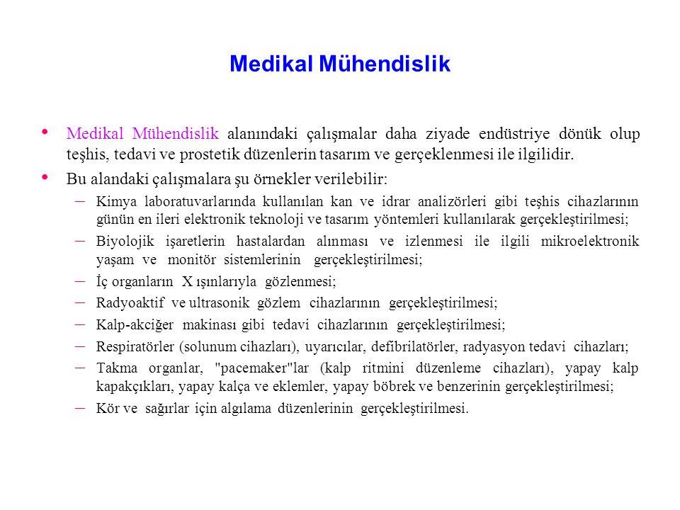 Medikal Mühendislik