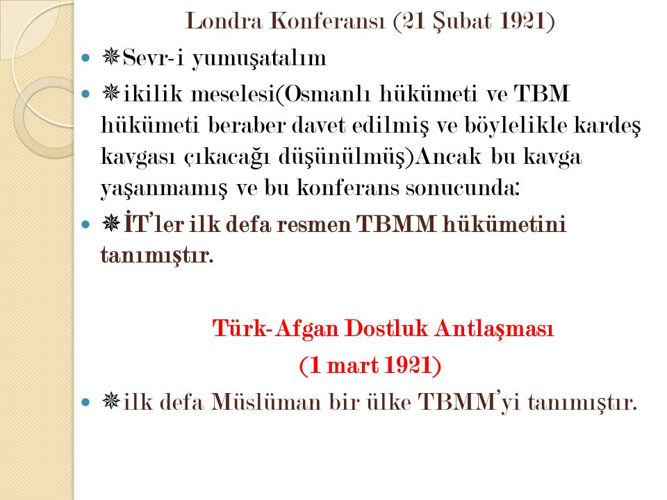 Türk-Afgan Dostluk Antlaşması