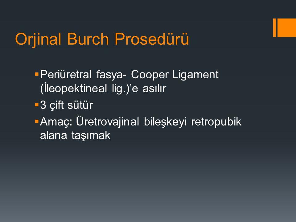 Orjinal Burch Prosedürü
