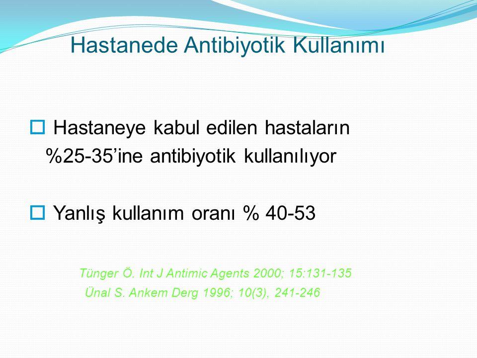 Hastanede Antibiyotik Kullanımı