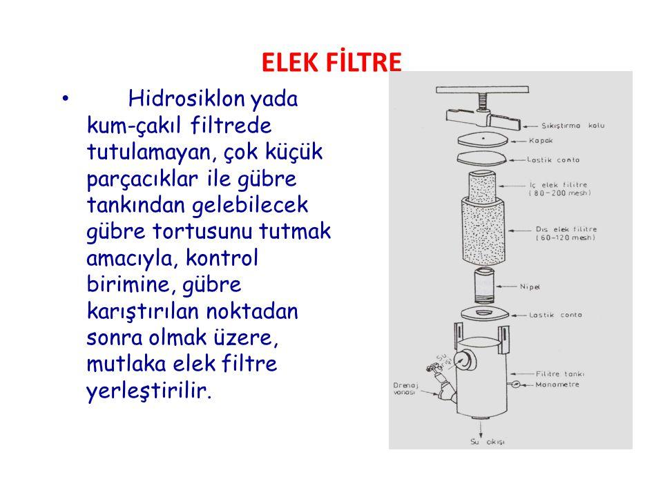 ELEK FİLTRE