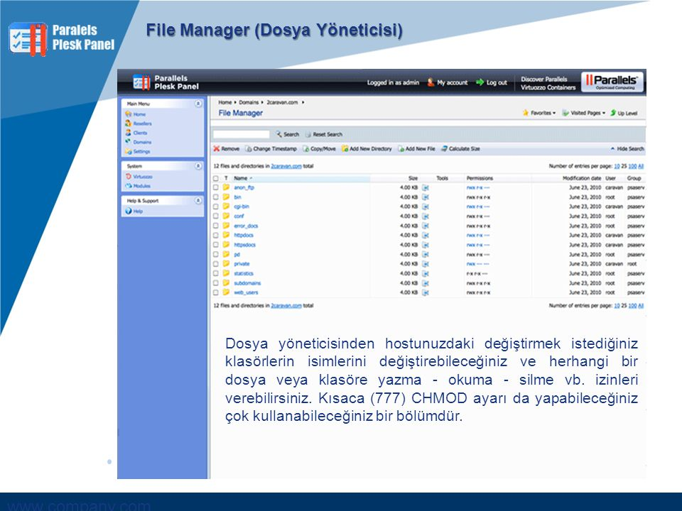 File Manager (Dosya Yöneticisi)