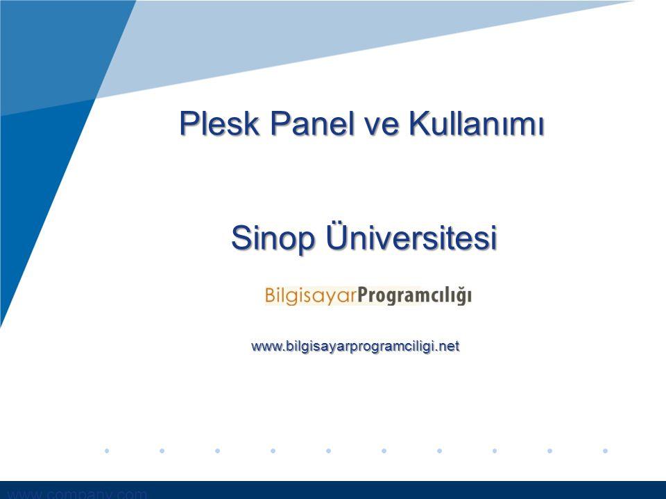 Plesk Panel ve Kullanımı