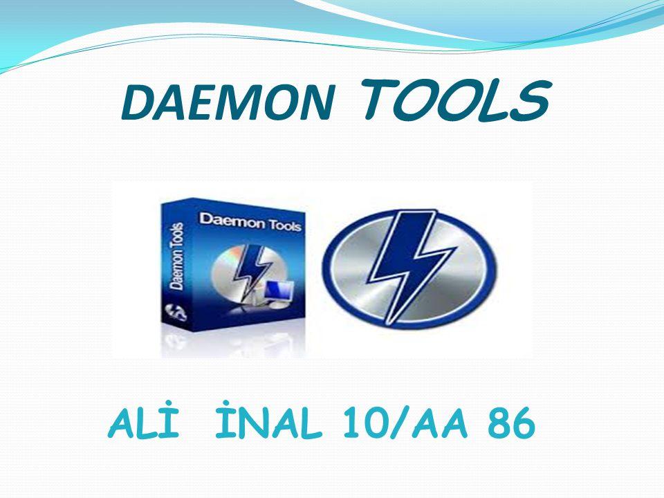 DAEMON TOOLS ALİ İNAL 10/AA 86
