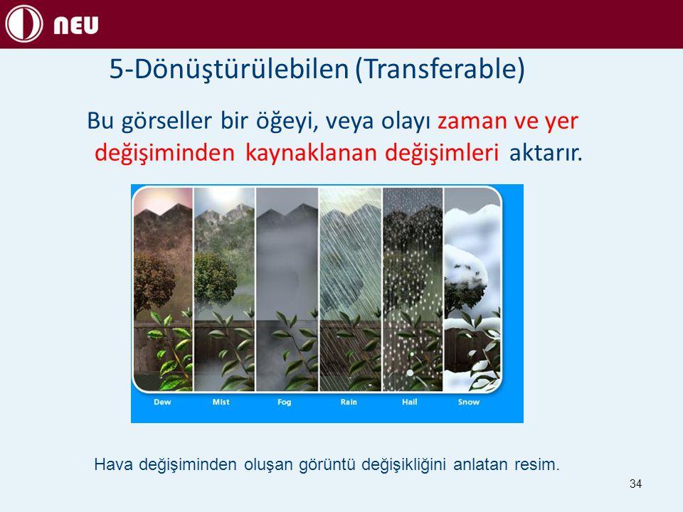 5-Dönüştürülebilen (Transferable)