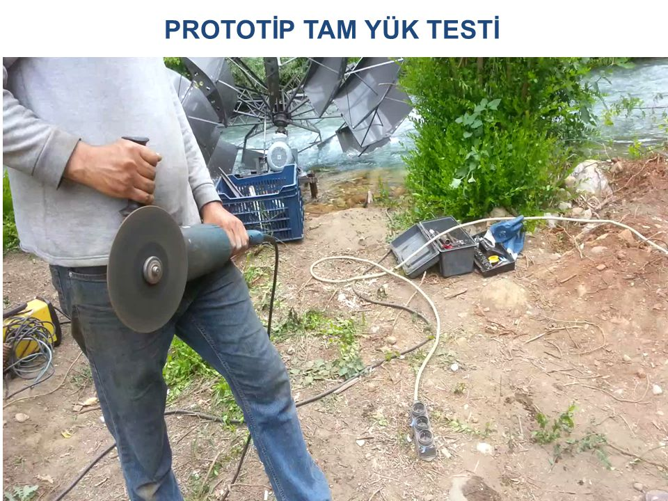 PROTOTİP TAM YÜK TESTİ