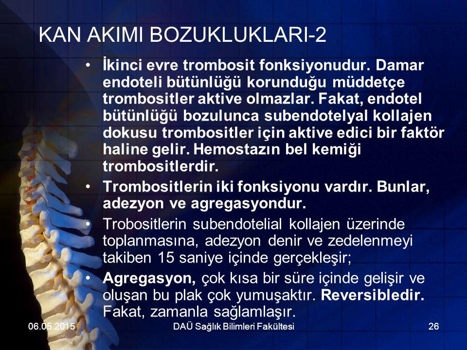 KAN AKIMI BOZUKLUKLARI-2