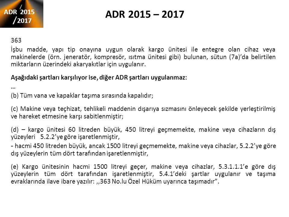 ADR 2015 – 2017 ADR 2015. 2017. 363.