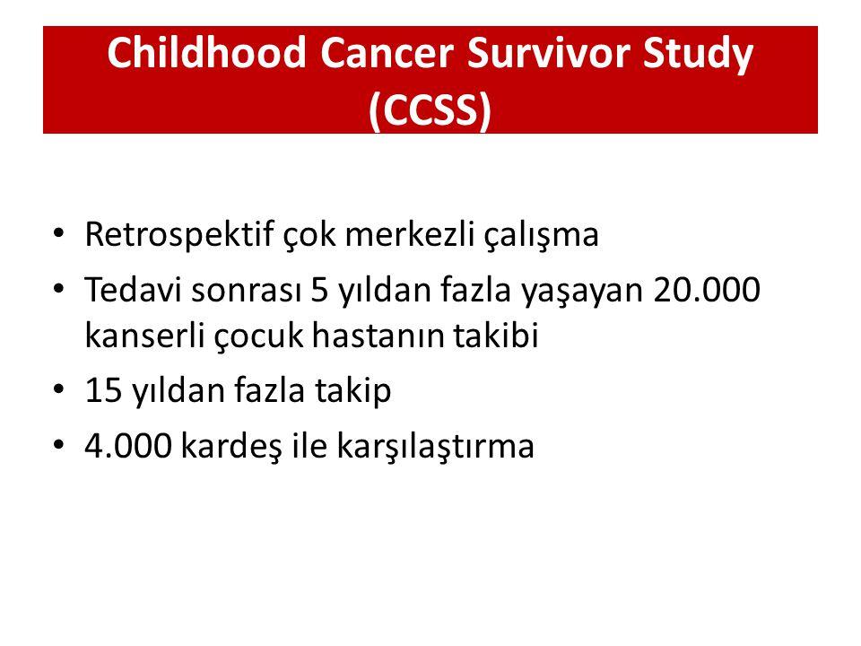 Childhood Cancer Survivor Study (CCSS)