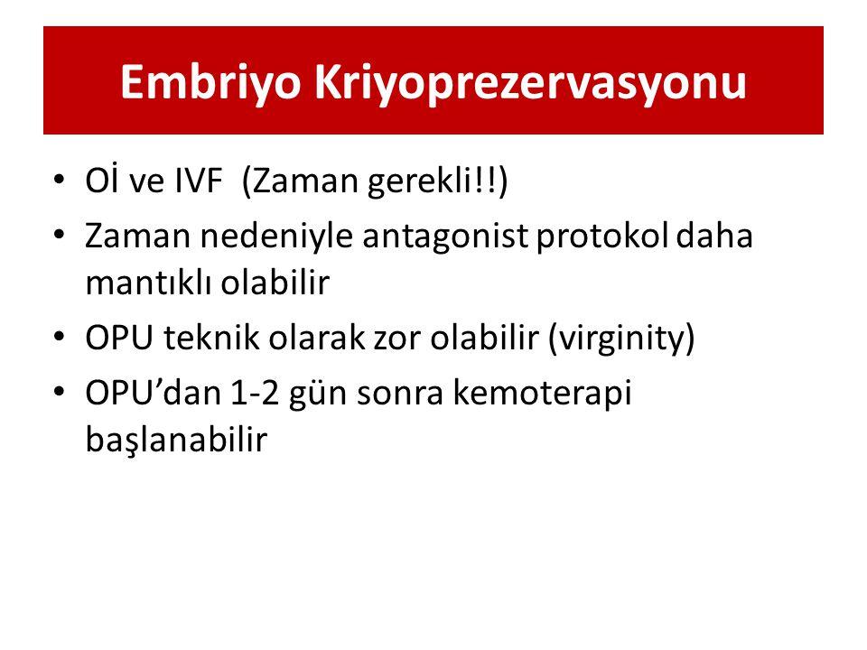 Embriyo Kriyoprezervasyonu