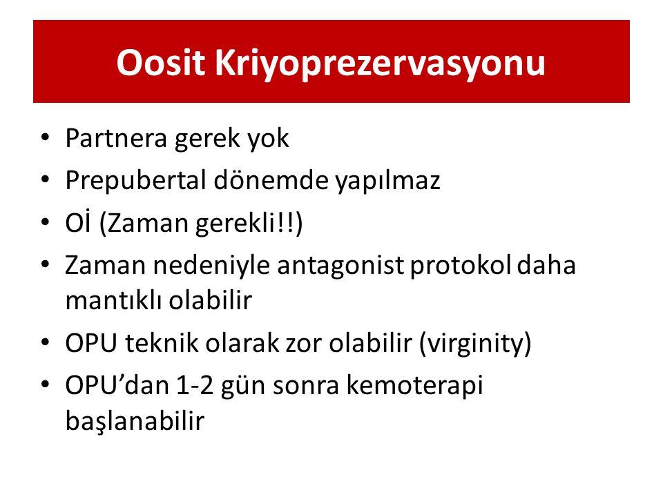 Oosit Kriyoprezervasyonu