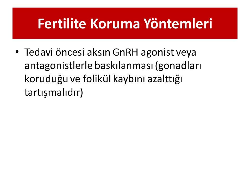 Fertilite Koruma Yöntemleri