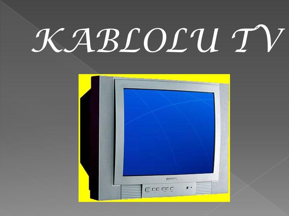 KABLOLU TV