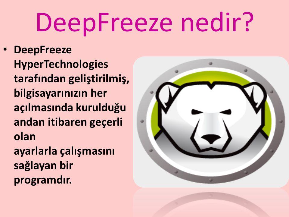 DeepFreeze nedir