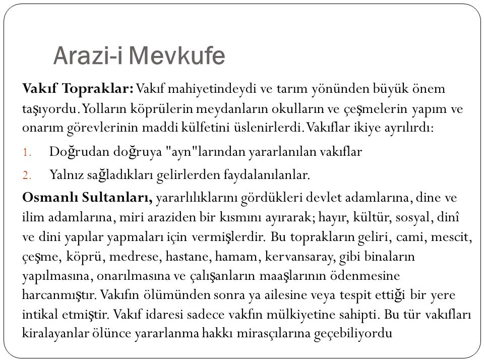 Arazi-i Mevkufe
