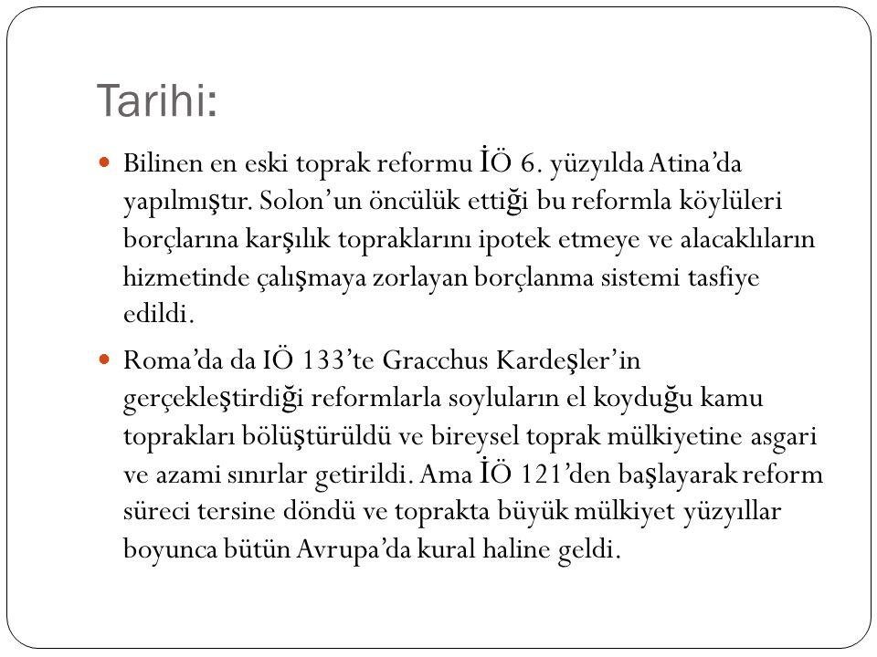 Tarihi: