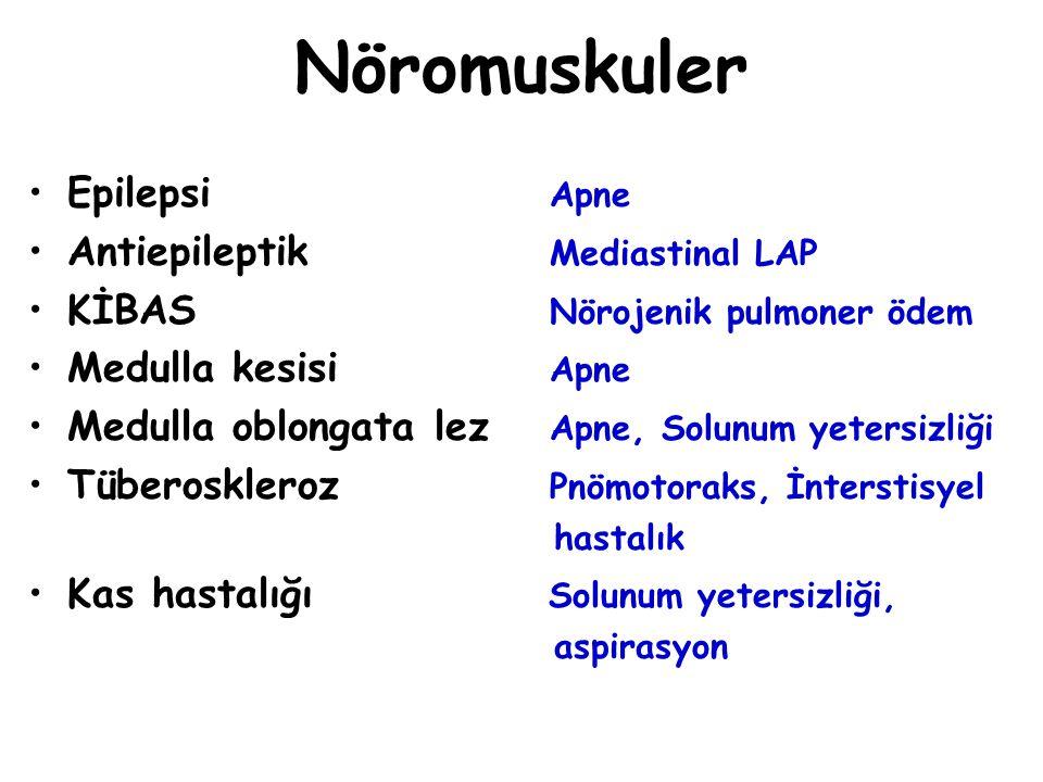 Nöromuskuler Epilepsi Apne Antiepileptik Mediastinal LAP