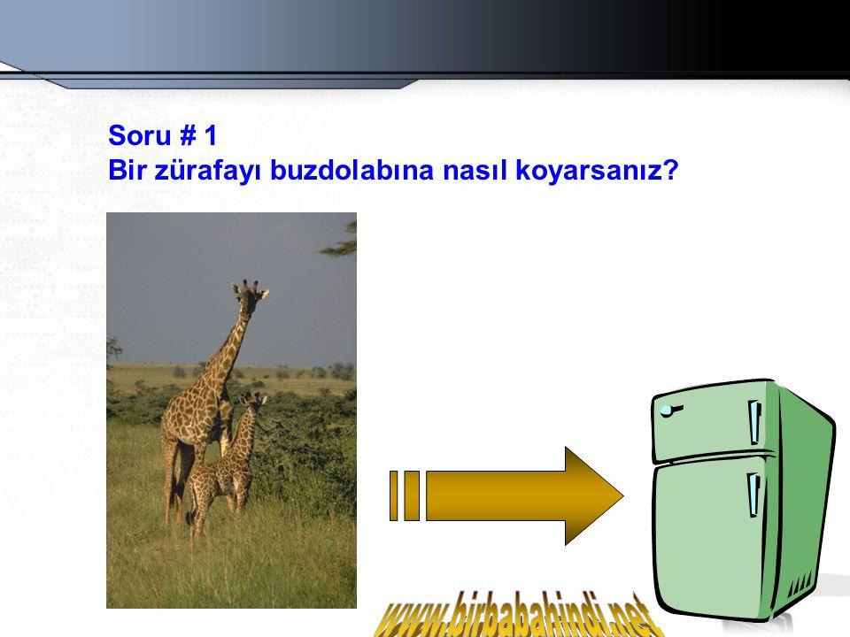 www.birbabahindi.net Soru # 1