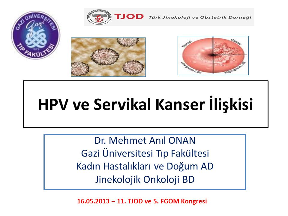 HPV ve Servikal Kanser İlişkisi