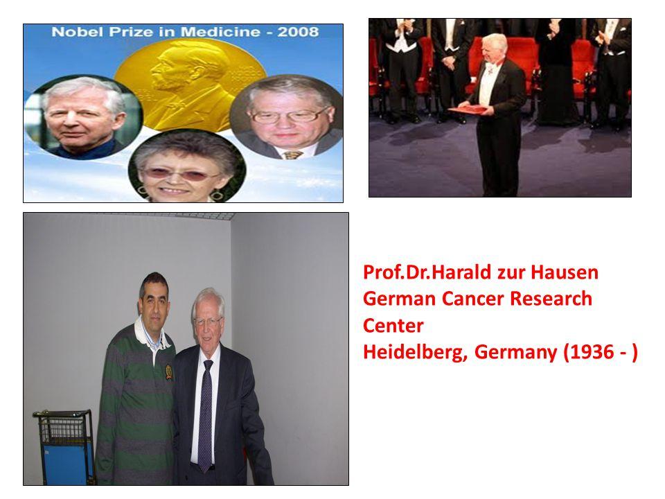 Prof.Dr.Harald zur Hausen