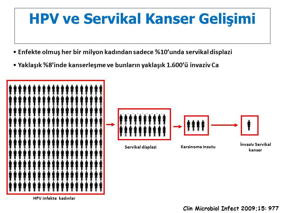 HPV ve Servikal Kanser Gelişimi