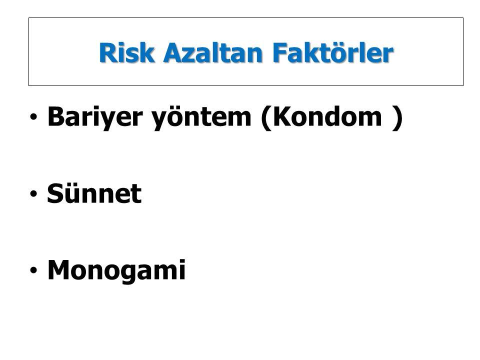 Risk Azaltan Faktörler