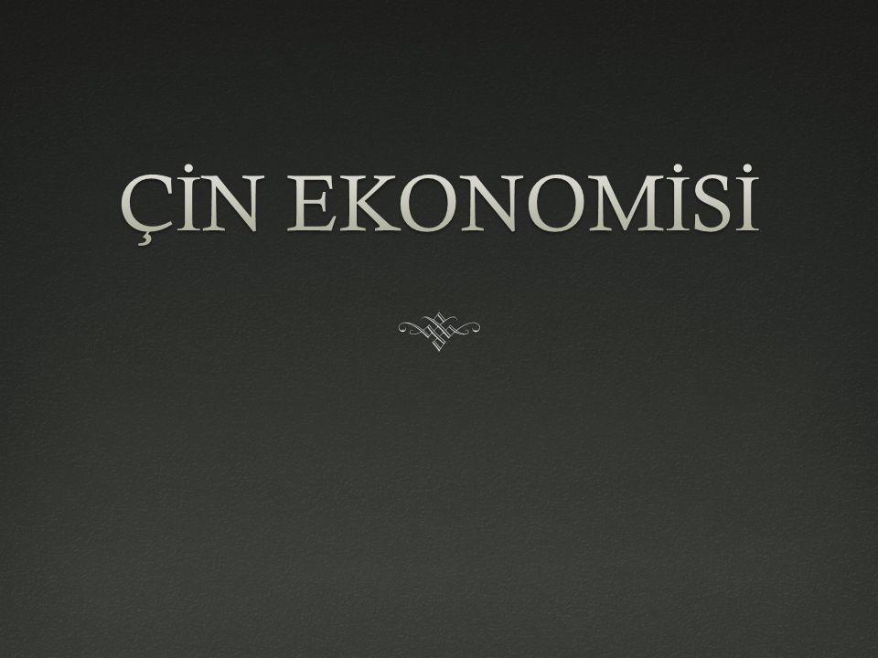 ÇİN EKONOMİSİ