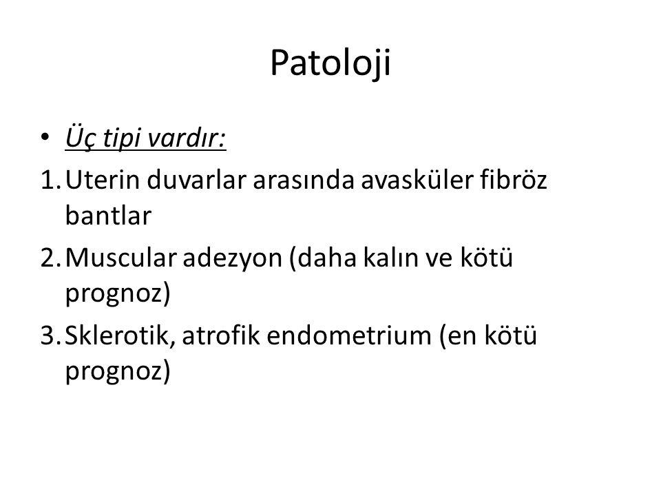 Patoloji Üç tipi vardır: