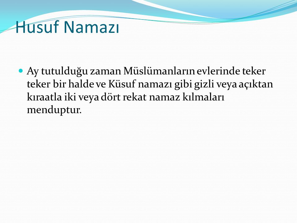 Husuf Namazı