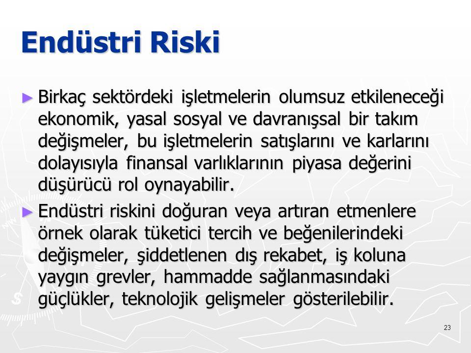 Endüstri Riski
