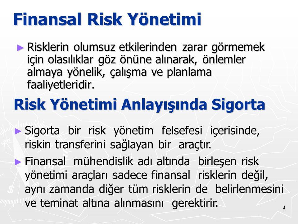 Finansal Risk Yönetimi