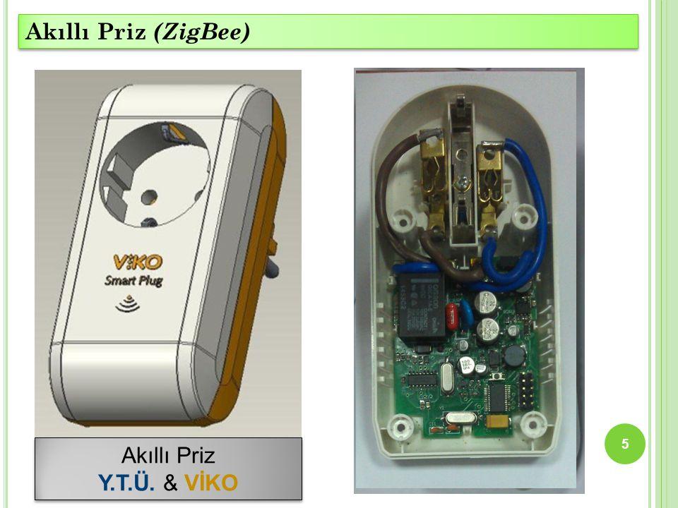 Akıllı Priz (ZigBee) Akıllı Priz Y.T.Ü. & VİKO