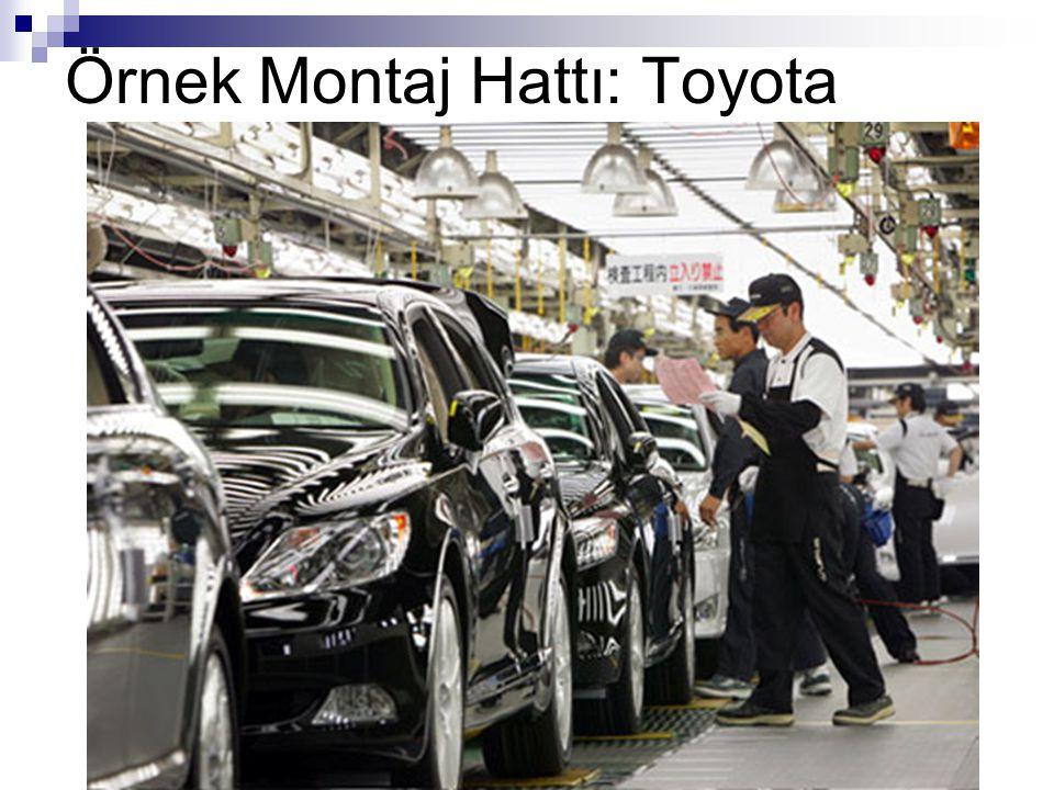 Örnek Montaj Hattı: Toyota