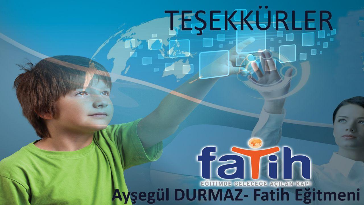 Ayşegül DURMAZ- Fatih Eğitmeni