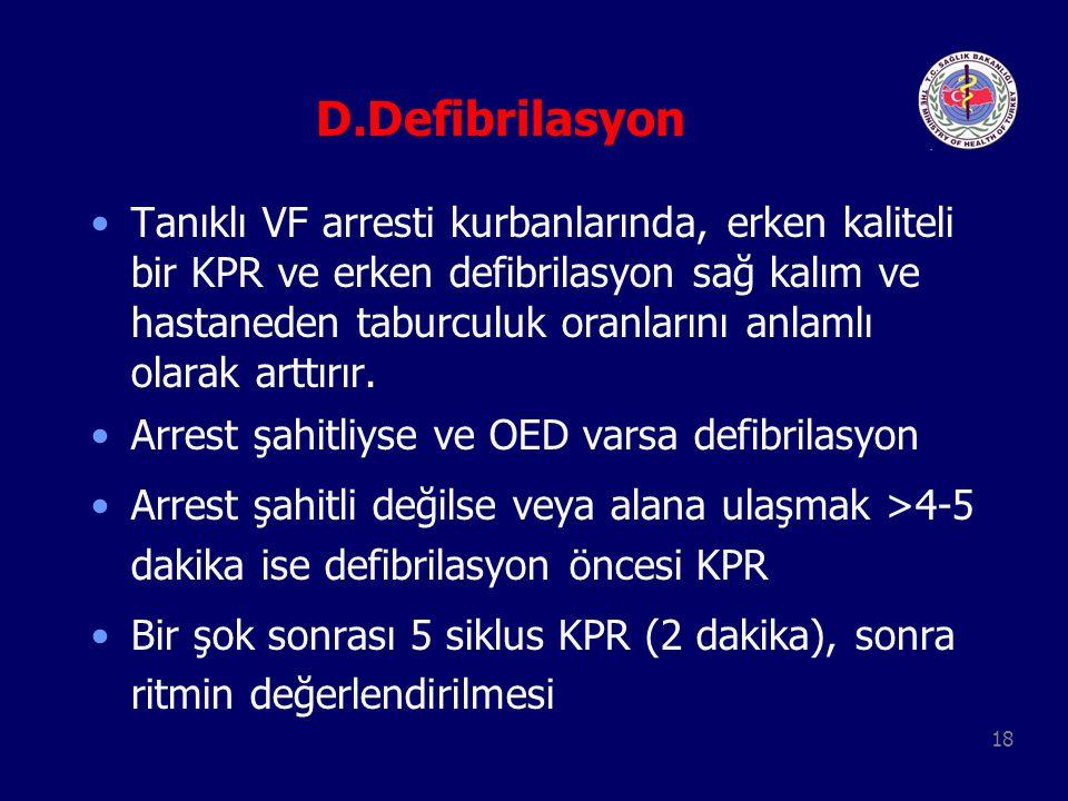 D.Defibrilasyon