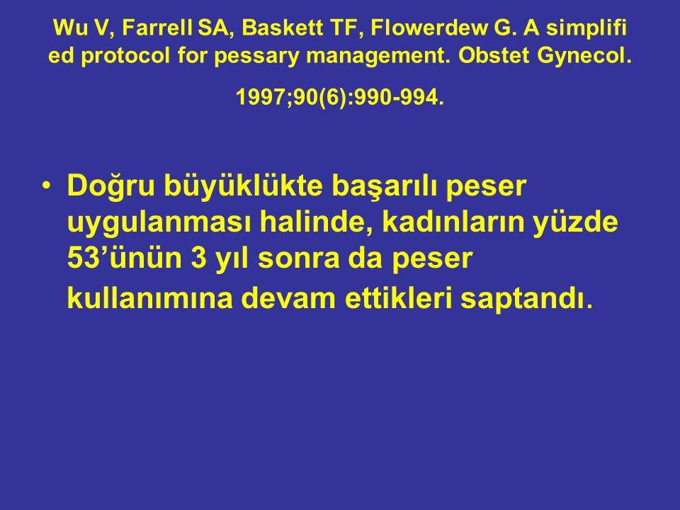 Wu V, Farrell SA, Baskett TF, Flowerdew G