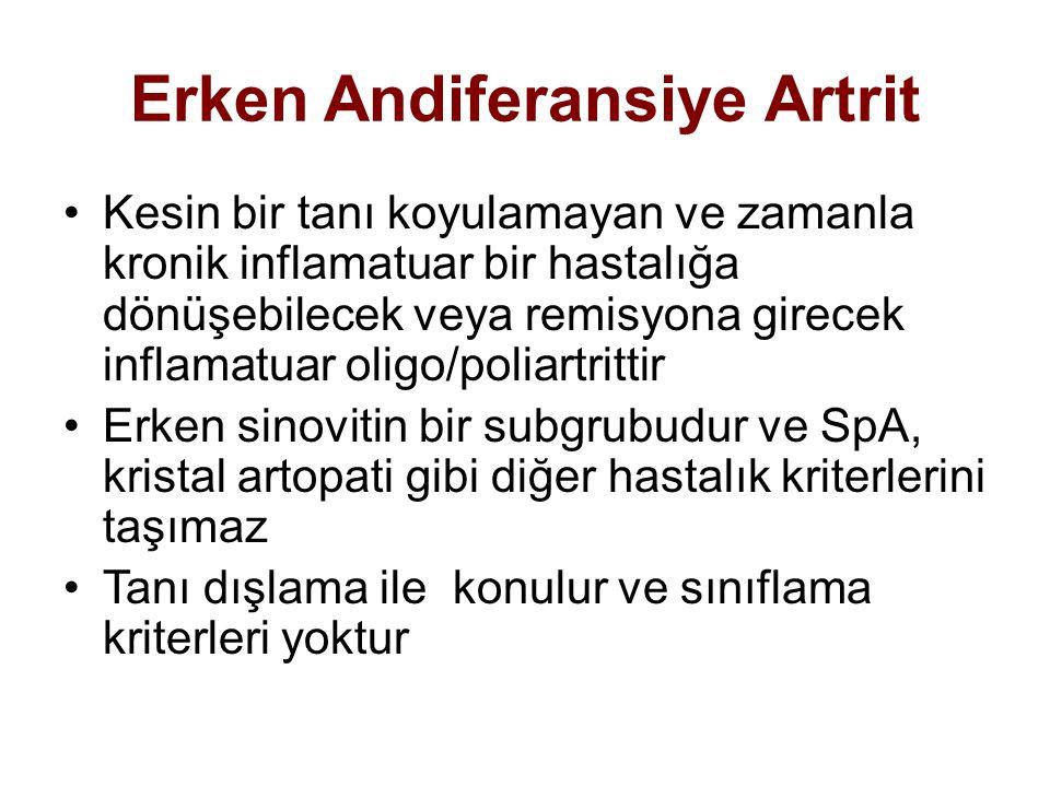Erken Andiferansiye Artrit