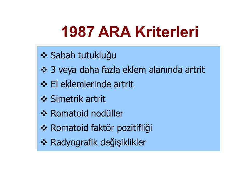 1987 ARA Kriterleri Sabah tutukluğu