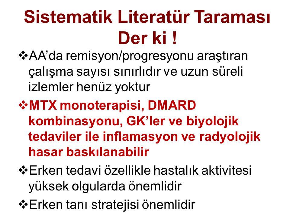 Sistematik Literatür Taraması Der ki !