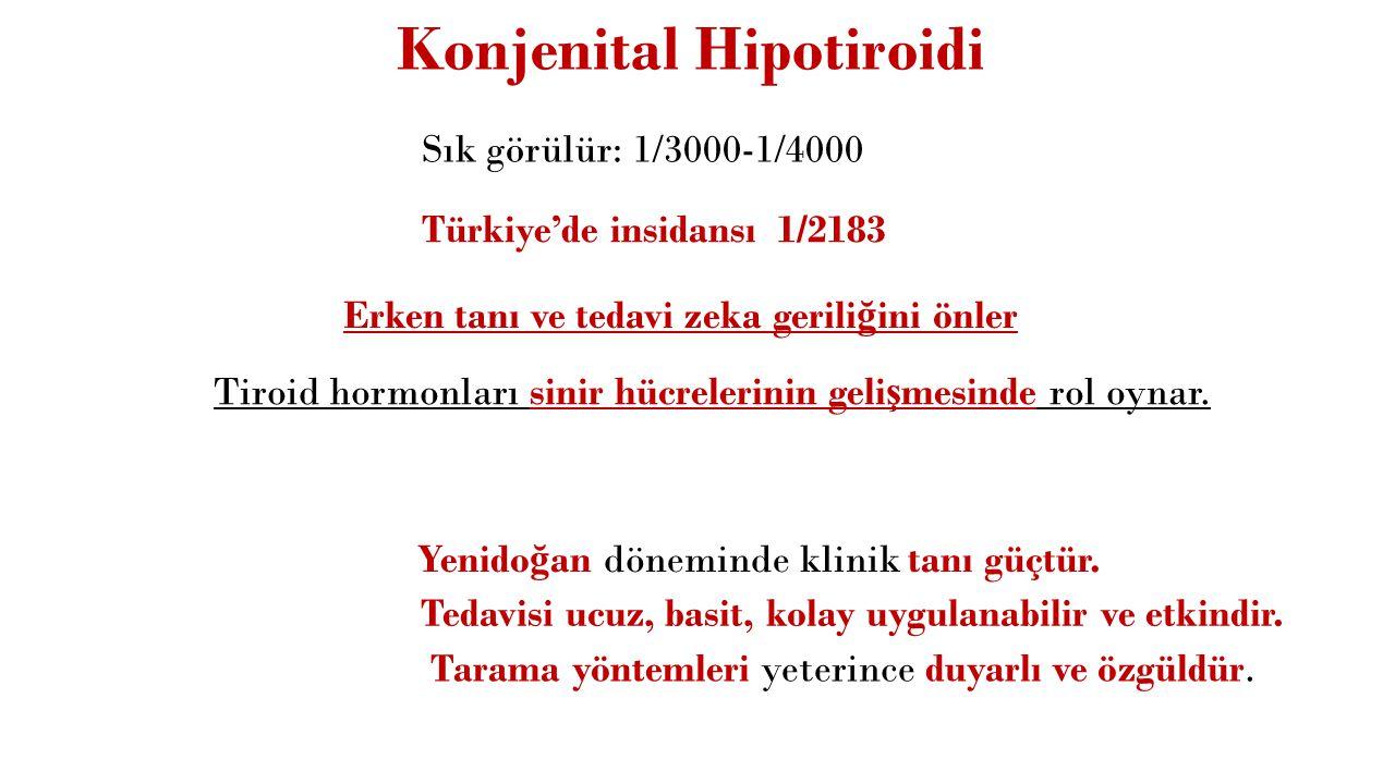 Konjenital Hipotiroidi