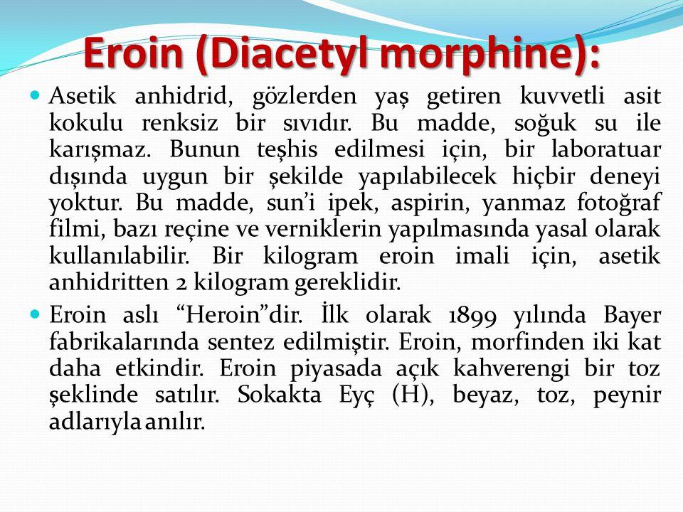 Eroin (Diacetyl morphine):